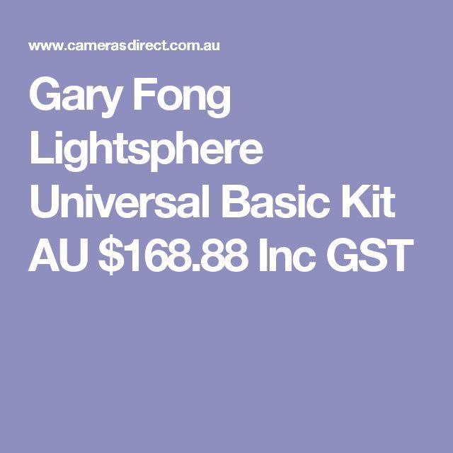 Gary Fong Lightsphere Universal Basic Kit  AU $168.88 Inc GST