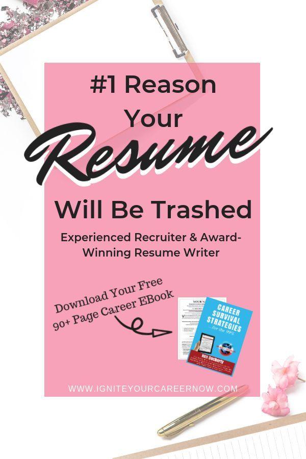 1 Reason For Job Application Failure Resume Design Resume