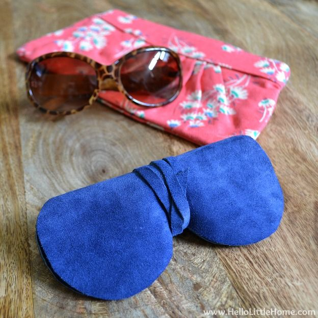 Super Easy, Super Chic DIY Sunglasses Case