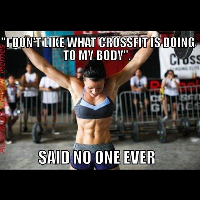 L Entrainement Crossfit S Articule Autour Des Wod Workout Of The Day Chaque Jour Un Wo Workout Est Choisi Pui Crossfit Memes Crossfit Motivation Crossfit