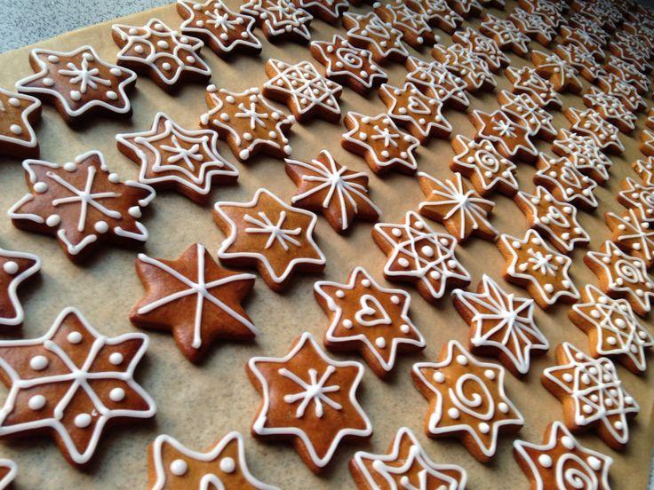 Gingerbread Stars, Lebkuchensterne, Christmas 2012, Weihnachten 2012,