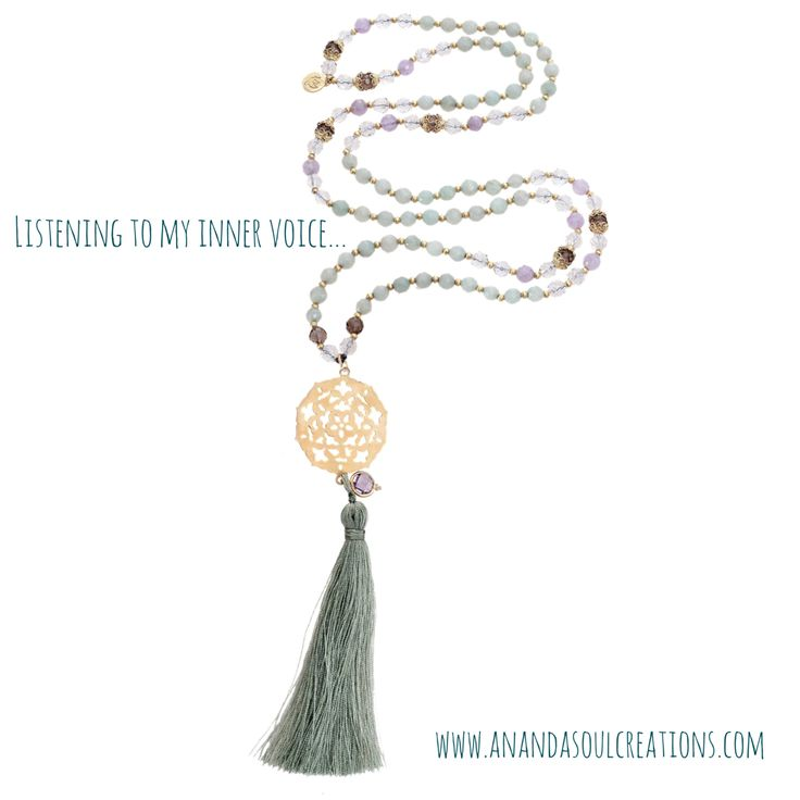 Feels like the entire last year was about listening to my truth more and more and more...fine tuning the skill of trusting that voice inside. Amazonite is a beautiful and powerful stone connecting the Anahata heart chakra with the Visshudha throat chakra to allow us to communicate our heart's truth. Available at www.anandasoulcreations.com #anahata #chakra #heart #truth #listening #anandasoul #boho #yoga #jewelry #blessed