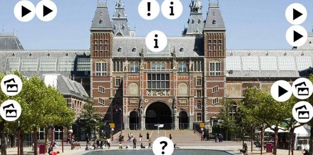 Interactieve praatplaat: Het Rijksmuseum by meester Henk