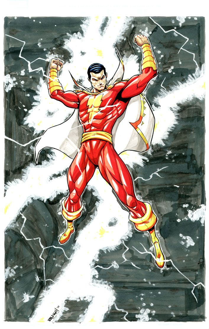 Shazam comics(He'll always be Capt. Marvel to me)