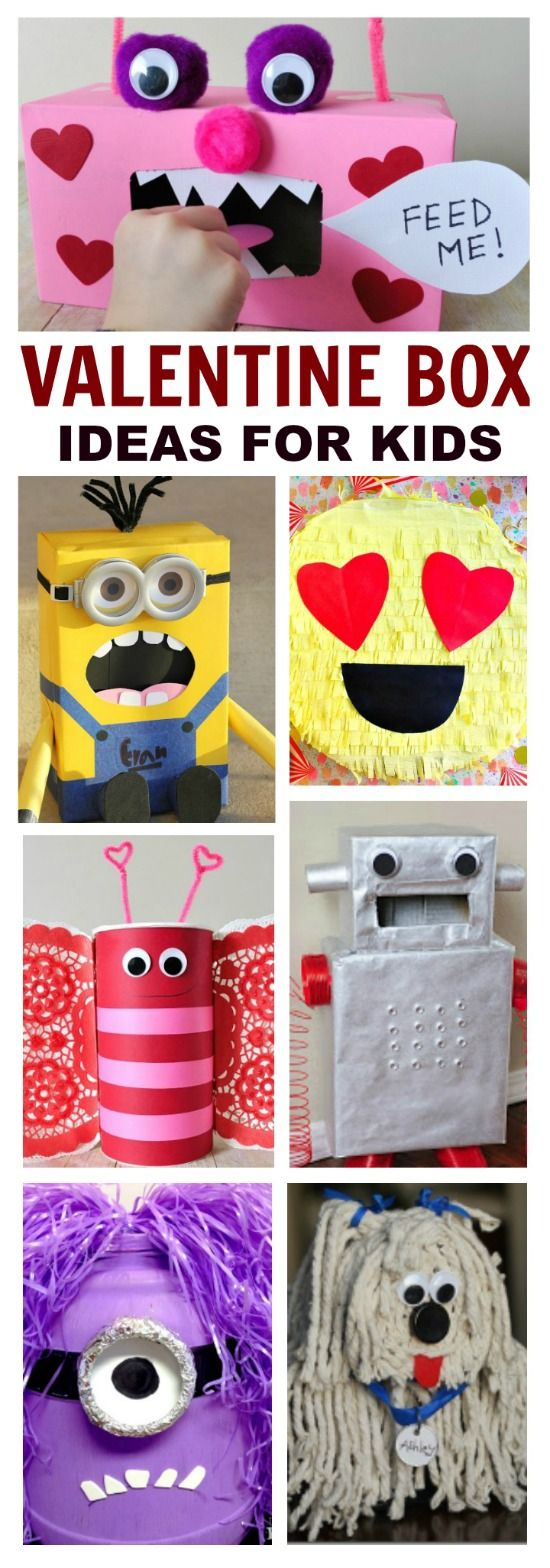 Are you looking for Valentine's box ideas for your kids this year?  Well, here are 50 that they are sure to love!  With all of these options picking which box to make might be the only challenge!  For