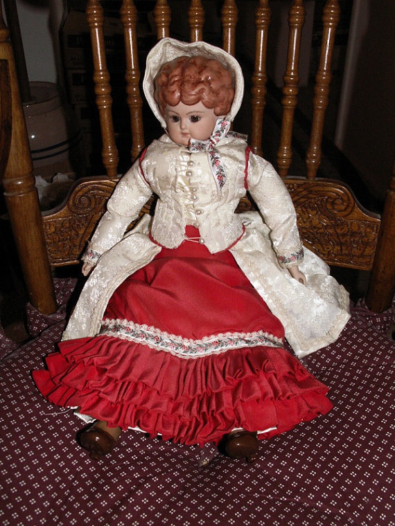 Doll FRENCH FASHION Outfit for 15 to 16 Inch DOLL by mrnglry, $45.00
