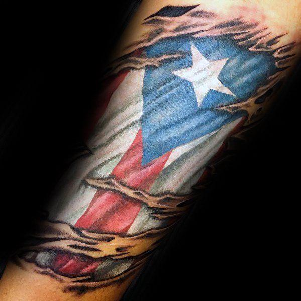 50 Puerto Rican Flag Tattoo Ideas For Men Puerto Rico Designs Flag Tattoo Puerto Rican Flag Puerto Rico Tattoo