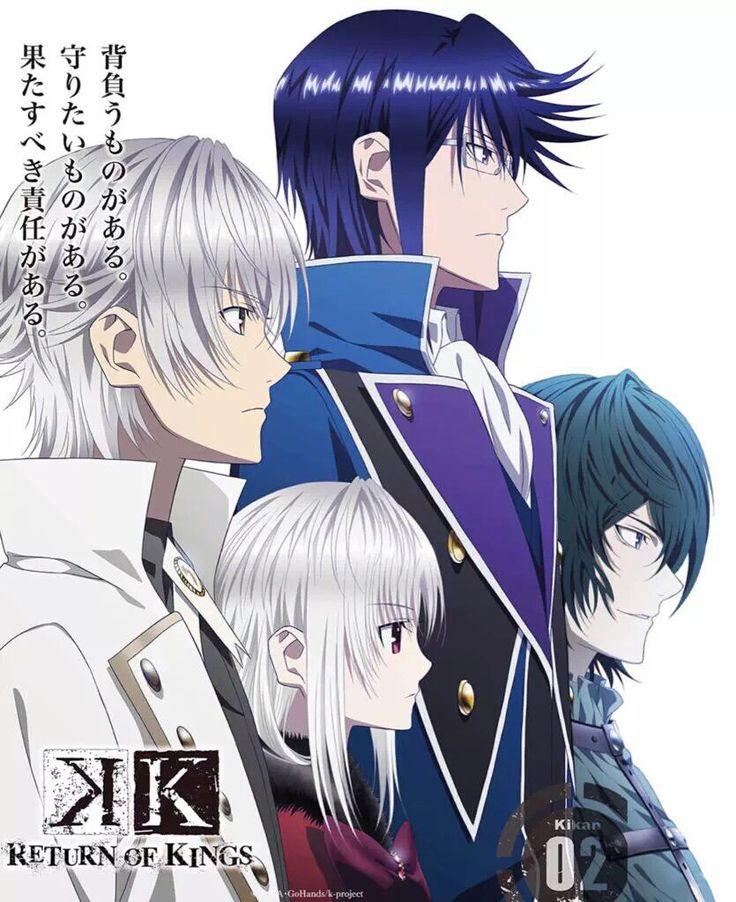 K project 2 season 2015 kprojekt projekte anime