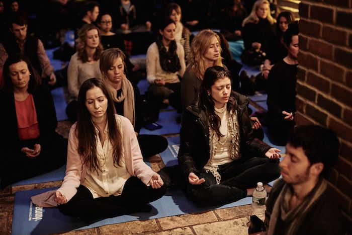 The Meditation Generation: Why more and more stressed out young professionals are skipping happy hour in favor of sitting in stillness.