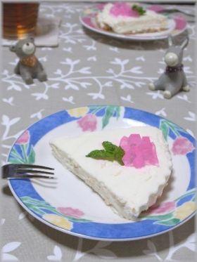 「紫陽花のヨーグルトケーキ」ちるちる | お菓子・パンのレシピや作り方【corecle*コレクル】