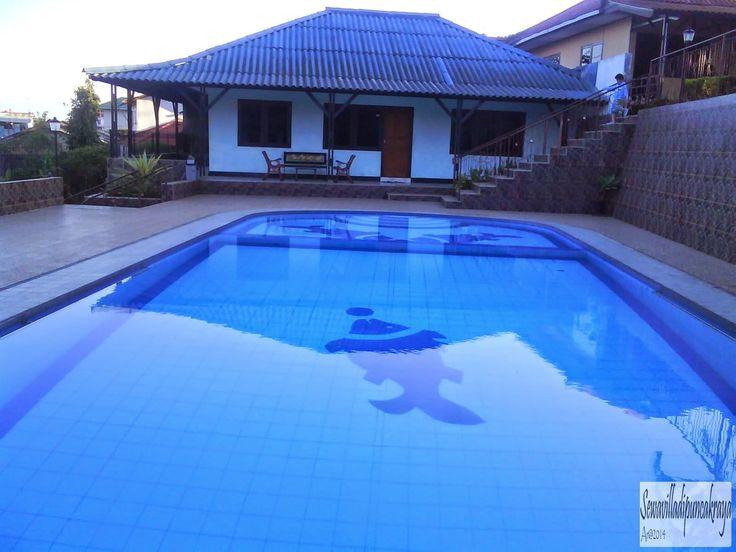 Villa Murah dipuncak ada kolam renang - VILLA 0005