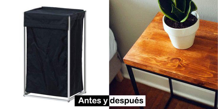 Ideas de decoración Antes de tirar los muebles que ya no uses de Ikea, te recomendamos que pases por la web de http://www.ikeahackers.net/, donde encontrarás múltiples adaptaciones de tus muebles de Ikea.