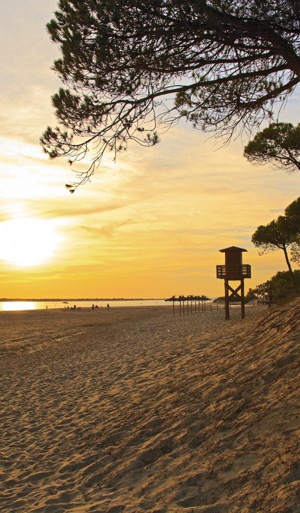El Portil Beach, Andalusia, Spain