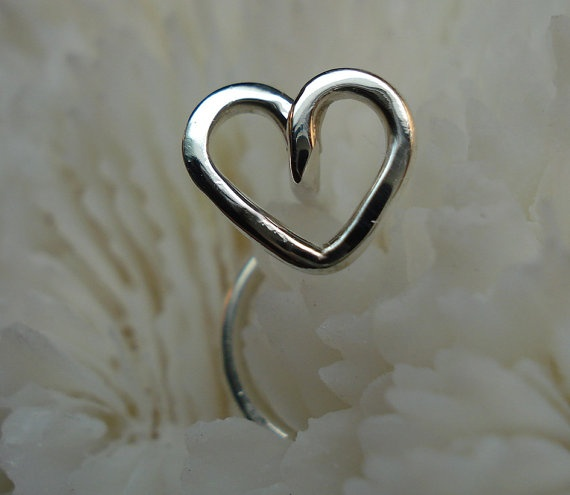 Heart nose ring. Getting this in 2 months :)