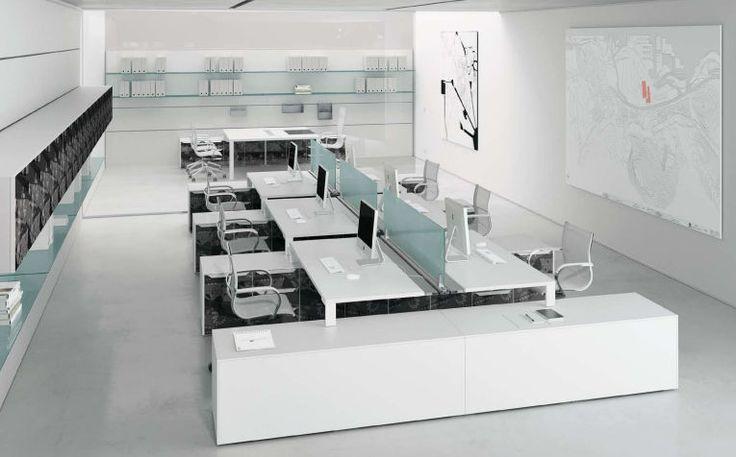 Puesto de trabajo múltiple y moderno para open-space - MY DESK - Frezza