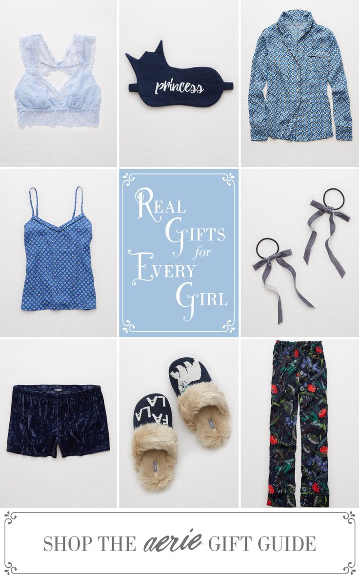 Hey Sleeping Beauty! Shop our holiday gift guide at Aerie.com/giftguide