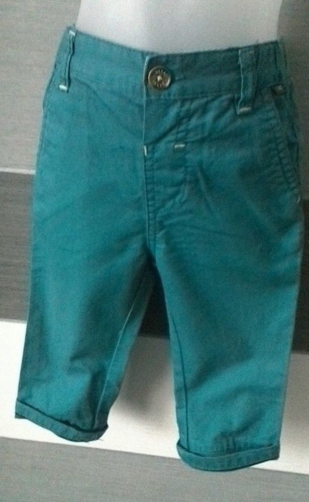 e4511a107755 Ted Baker Baby Boys Turquoise Chino Trousers 9-12 months  TedBaker  Trousers