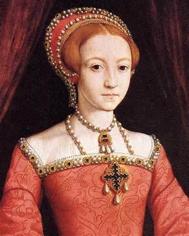 ELIZABETH I OF ENGLAND (1533–1603), last TUDOR monarch over England reigned 1558–1603 ~ Age 14
