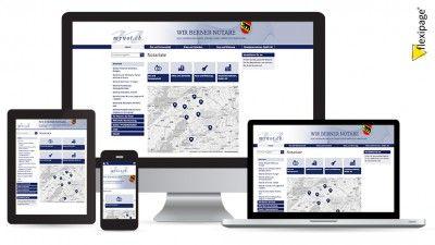Mynot, Flexipage, Responsive Webdesign, Internetauftritt