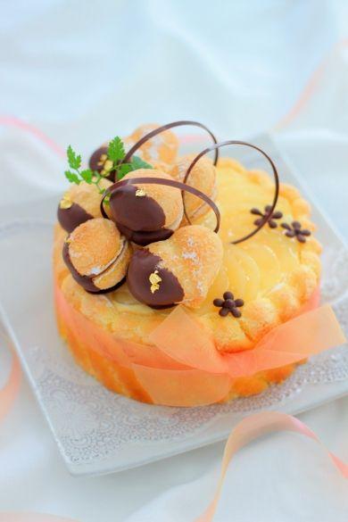 「バタースコッチキャラメルシャルロット」あいりおー   お菓子・パンのレシピや作り方【corecle*コレクル】