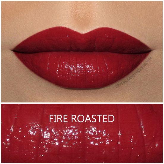 MAC Liptensity Lipstick in Fire Roasted