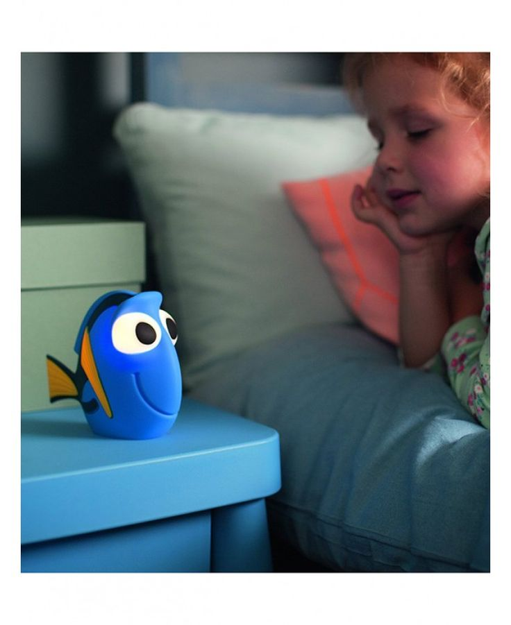 This fun Finding Dory Softpal LED Light is a glowing friend that will light up your child's bedroom and provide them with a comforting night light.