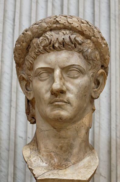 Claudius, the 4th Roman Emperor. Great Grandfather X 57