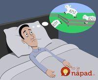 Zaručený trik na nespavosť: Tento cvik vás uspí do jednej minúty