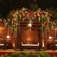 Inilah Dekorasi Tahta Asmaradana Pernikahan Adat Jawa