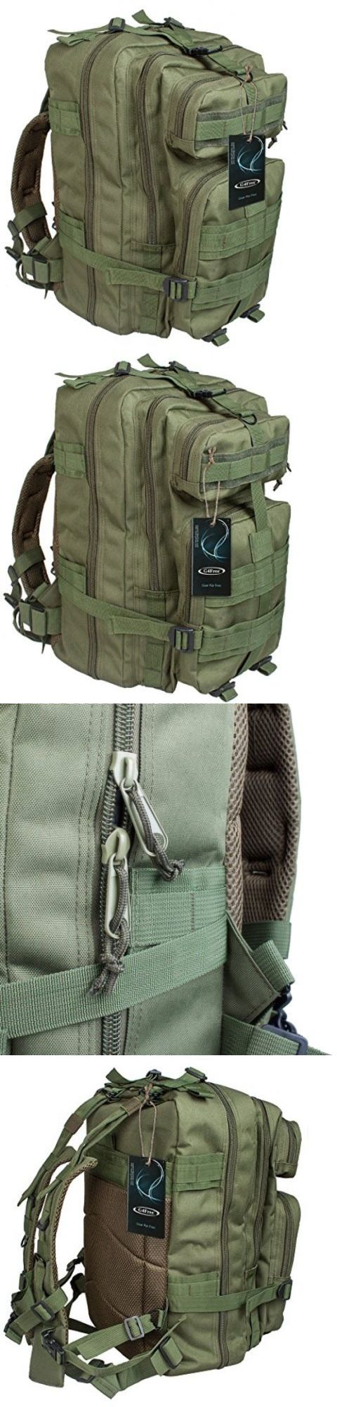 Day Packs 87122: Hiking Prepp Military Rucksacks Tactical Molle Backpack Camping Trekking Bag 40L -> BUY IT NOW ONLY: $32.84 on eBay!