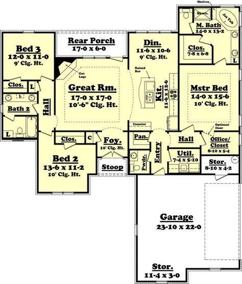 122 best 1800 sq ft house plans images on Pinterest Floor plans