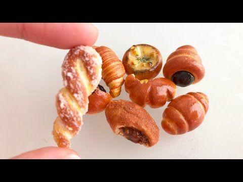 フェイクフード パン8種の作り方 - YouTube