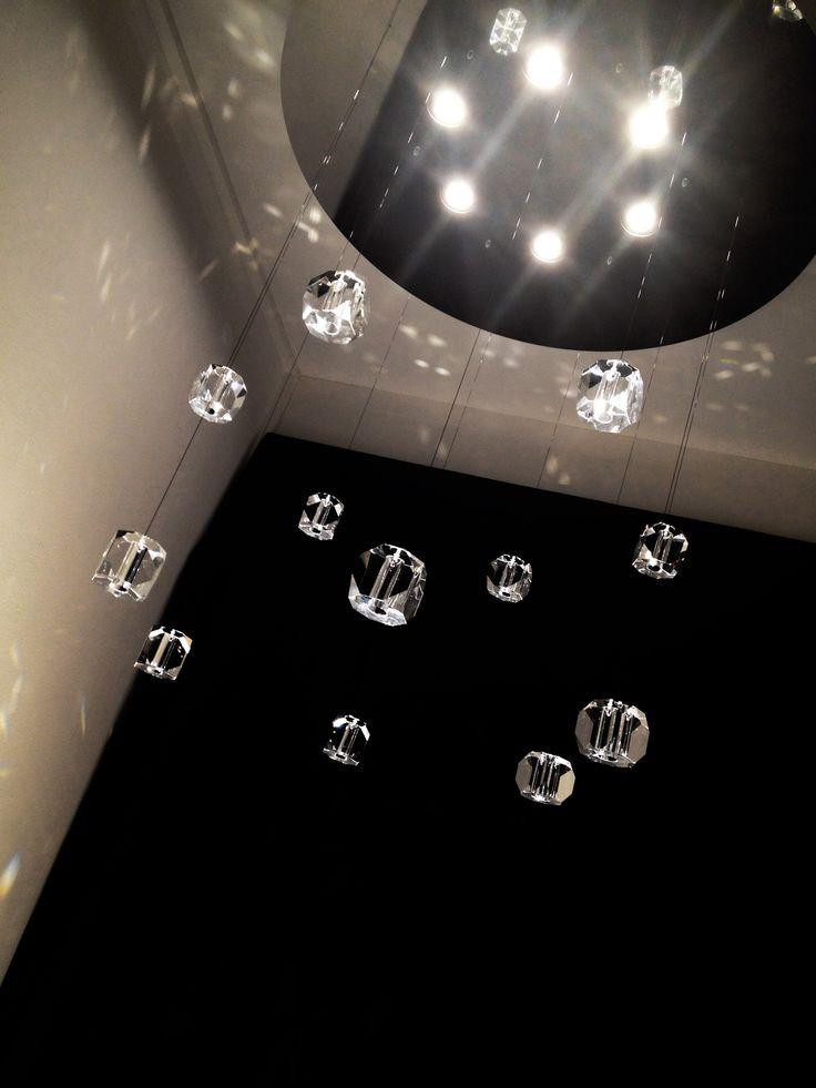 Lunaria with Gemma crystal - Pepe Tanzi design @ALBUM Lights