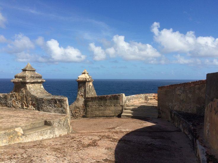 Fortet El Morro i Old San Juan i Puerto Rico