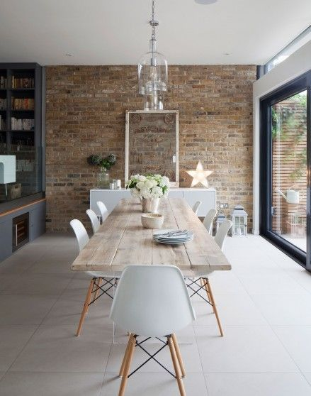 Want Dining Room Inspiration? Take A Look At This Chic And Simple  Scandi Inspired