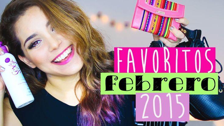 FAVORITOS DE FEBRERO  ♥ Jimena Aguilar