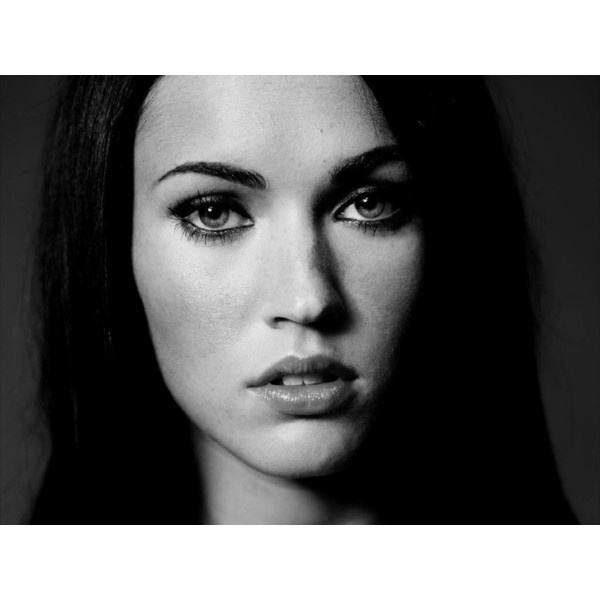 Megan Fox face ❤ liked on Polyvore