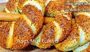 Sütlü Simit Tarifi