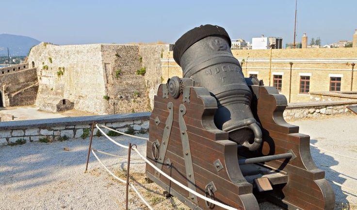 Cannon in Corfu Castle