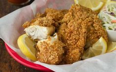 Southern-Style Fried Catfish Recipe If you don't think you like catfish, then somebody didn't do something right. Perfectly fried, Southern-style catfish can be prepared many ways, but I like this recipe the best: a quick dip in hot sauce followed by a crunchy cornmeal coating