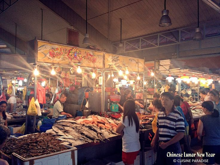 Cuisine Paradise | Singapore Food Blog | Recipes, Reviews And Travel: [Wordless Wednesday] Celebrate Chinese Lunar New Year In Singapore - Wet Market (巴杀)