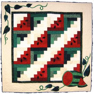 43 best WATERMELON QUILTS images on Pinterest | DIY, Crafts and ... : watermelon quilt - Adamdwight.com