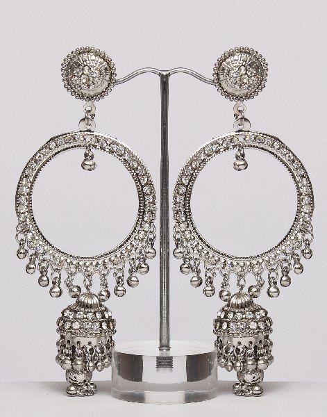 Indian Style Jewelry-Jhumka Earrings