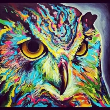 Paintings Of Animals In Different Colours - Google Search