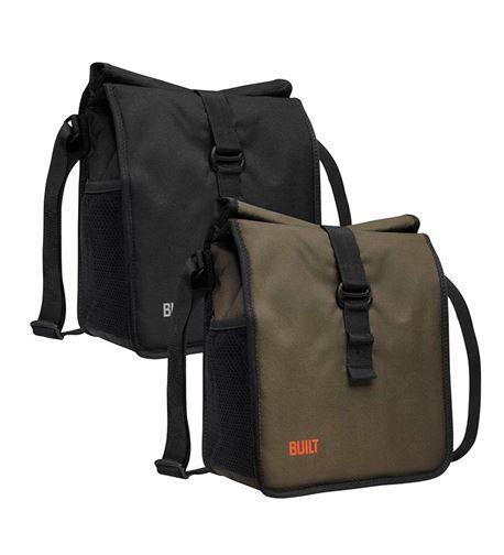 "Built_Crosstown Insulated Lunch/Messenger Bag_$19.95_9""W x 10.6""H x 8.9""D_great for men"