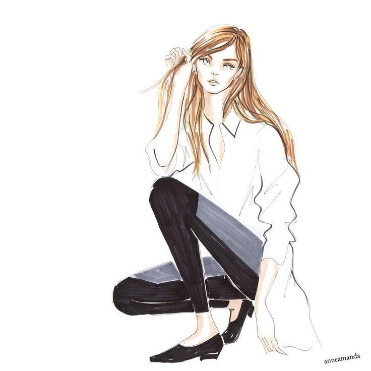 Katso Instagram-kuvia ja videoita käyttäjältä anneamanda fashion (@anneamanda_illustration)