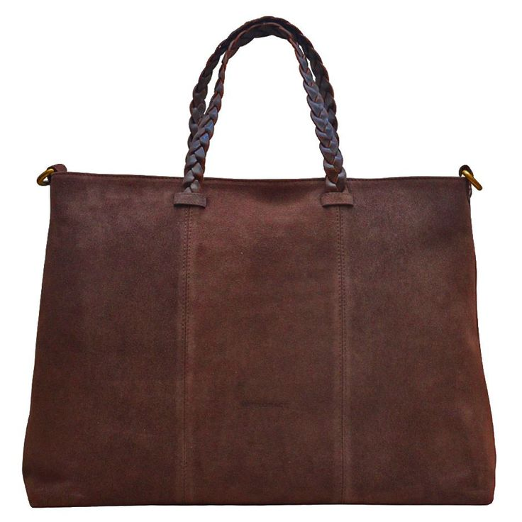 Hippi Grace Zurich Shopper Semsket Mørk Brun via HIPPI GRACE  Webshop. Click on the image to see more!