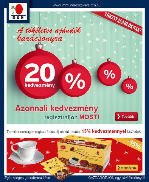 Egészséges kávé ajándékba http://www.immunerositokave.dxn.hu/termekek