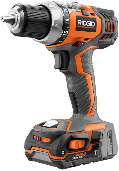8 tools for a new DIYer.   ridgid-compact-cordless