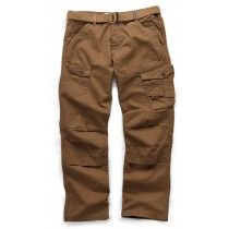 Scruffs Drezna Twill Industrial Strength Cotton Work Trousers Brown